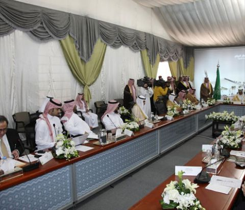 Ground Breaking Ceremony of Riyadh Metro Project - Riyadh Main Station Site